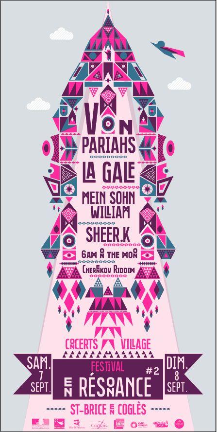 Festival En Résonance - Graphisme : Atelier du Bourg