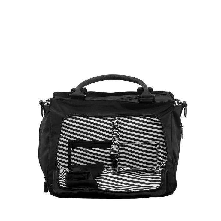 Ju-Ju-Be Onyx Be Classy Black Out Diaper Bag