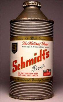 Schmidts Beer Can #beer #beerbaconmusic