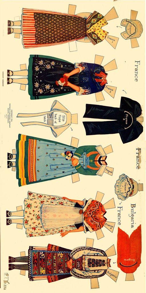 Peasant Costumes of Europe