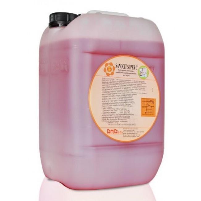 Check Out Our Awesome Product: Detergete Brillantante Sanocit Super C >>>>>>Detergente brillantante per pulizia giornaliera di apparecchi sanitari, pareti e pavimenti in piastrelle.    Disponibile in taniche da 10 litri.