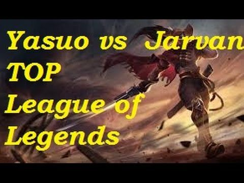 Platinum - Yasuo vs Jarvan top   6-2-1