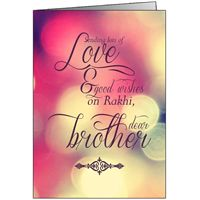 Give your beloved brother, sister a Personalized Rakhi greeting cards Add personal wishes & attach pictures for Rakhshabandhan. Delivery in 48 hours.