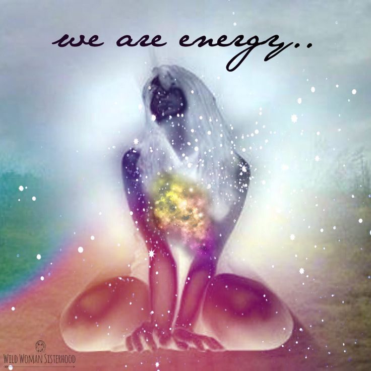 life is energy ... people, animals, trees, flowers ... we're all equal, we have different experiences of life, and yet we're all the same, we are energy