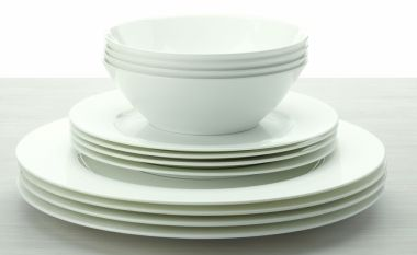 Cashmere 12pc Rim Dinner Set | Dining | Maxwell & Williams