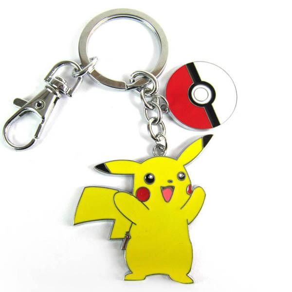 Pokemon toy figures Pikachu Keychains