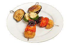 «Необычный» вегетарианский шашлык из шампиньонов и цукини — Вкусные рецепты