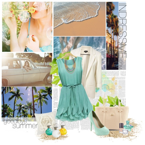 """""""goodbye summer, i hate to see you go"""" by sexbobomb on Polyvore"""