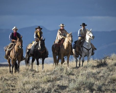 The Hideout Lodge & Guest Ranch in Shell, Wyoming, is an upscale 300,000 acre working cattle, riding and horsemanship guest ranch. The ranch is all-inclusive and located one hour east of Cody (gateway to the east entrance of Yellowstone National Park.)