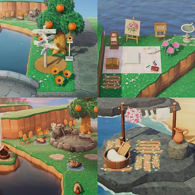 Ways To Fill Small Corners Spaces Animalcrossingdesign In 2020 Space Animals Animal Crossing Game Animal Crossing Pc