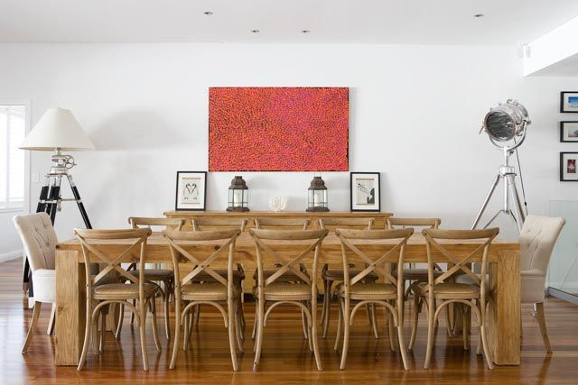 Collections By Kate - Reclaimed Parquetry 3m Dining Table