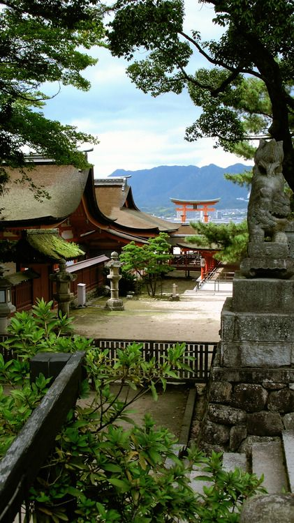 Miyajima, Japan. Beautiful. Japan has always been on my list of places to travel. Ever since my friend Yugo moved back there.