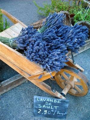 Lavender from provence...just beautiful and so calming!