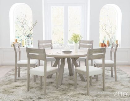 Attrayant Zuo Modern Beaumont Round Dining Table