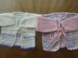 crochet baby top $10.00