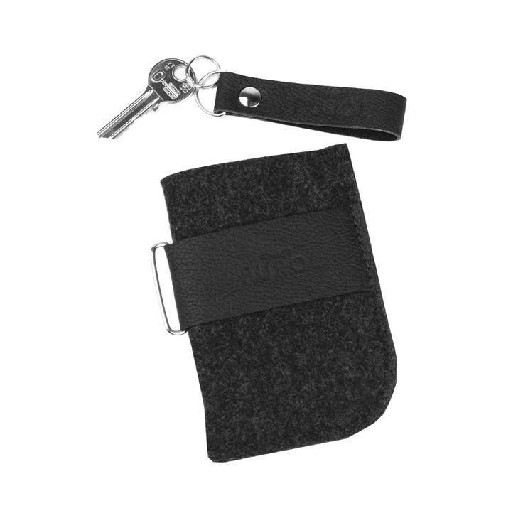 ETUI Z FILCU NA TELEFON 05 #black #phone #cover #case #felt #leather