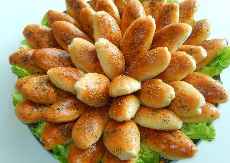 Zachte broodjes met gehakt