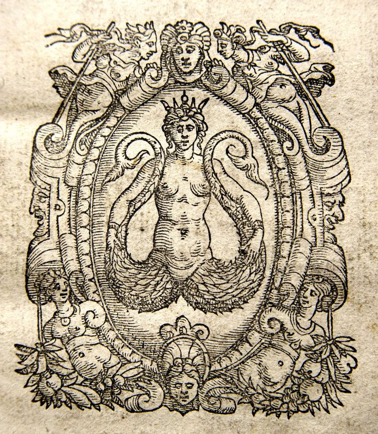 Memorial University Libraries 10. Giovanni Varisco or Ioannes Variscus was a printer active in Venice between 1558 and 1588. Mark: Mermaid or siren. The twin-tailed siren is an amalgamation of the two legs of a woman applied to the single tail of the fish. The twin fish-tail represents duality or conflicts.