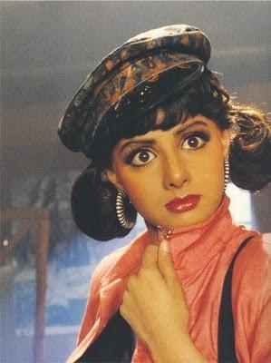 Sridevi - old style bollywood!