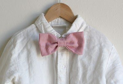 DIY: Simple Toddler Bowtie | Made this last night...seriously took me only fifteen minutes!! I love it. :) I'm makin' some more.