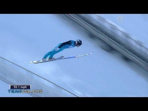 ▶ Nicholas Fairall Takes The Podium   2014 U.S. Olympic Trials Ski Jumping - YouTube
