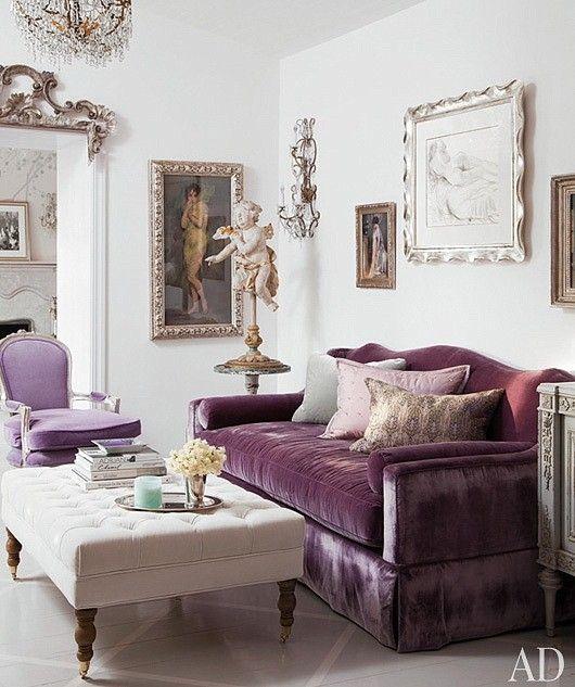 Hollywood Regency Living Room