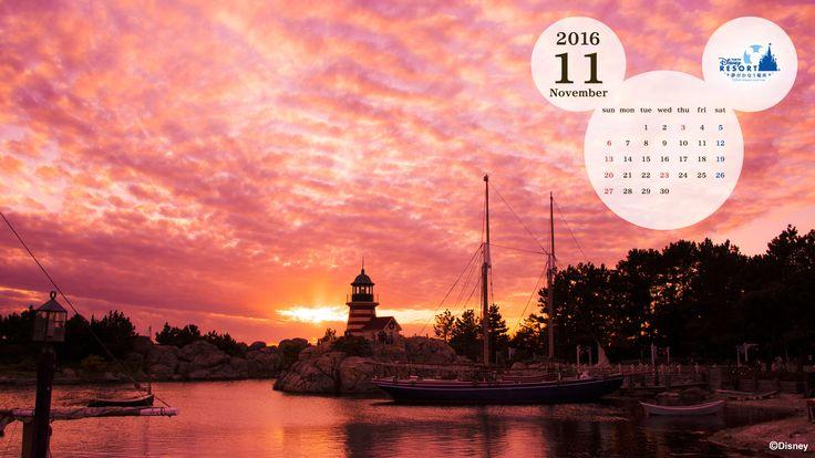 wallpaper_201611_1.jpg (1920×1080) / PC壁紙カレンダー #Disney #壁紙 #カレンダー