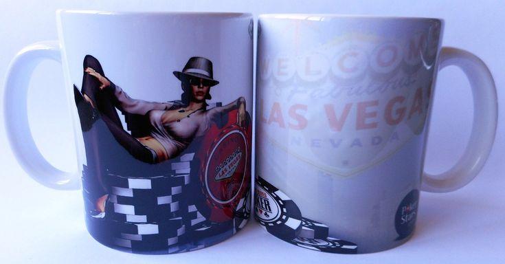 caneca de porcelana poker stars - mod. 3