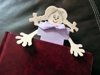 Kreatív ötletek gyerekeknek: Kreatív iskolakezdés - Könyvjelző    http://www.hobbycenter.hu/Evszakok/koenyvjelz.html#axzz2LcbHEtGO