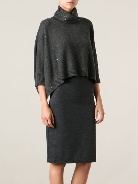Brunello Cucinelli Платье Со Свитером - Tnt - Farfetch.com