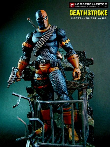 Loosecollector Custom Action Figures Official Website: Deathstroke : MK vs DC
