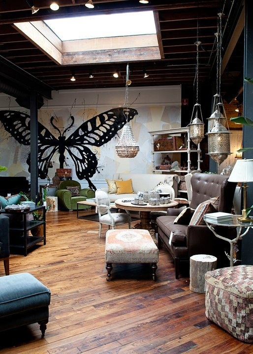 Jayson Home Store Chicago Butterfly RoomArchitecture Interior DesignInterior