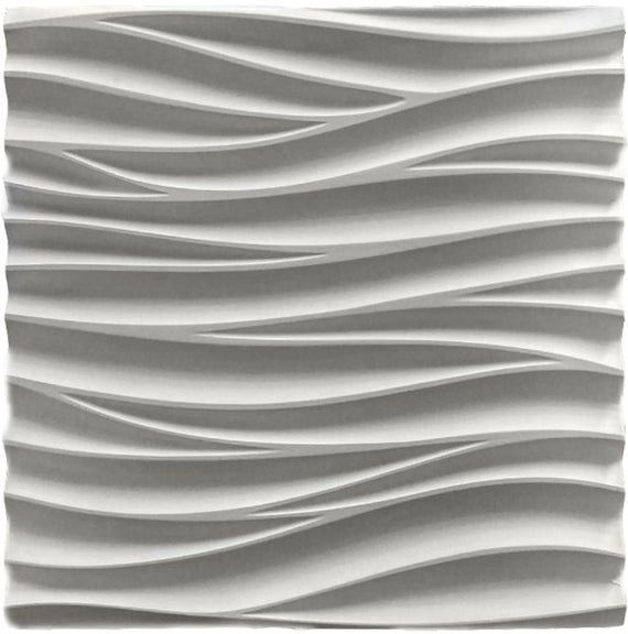 Plastic Mold For 3d Decor Wall Panels 11 For Plaster Etsy Interior Wall Design Wall Panel Design 3d Wall Decor