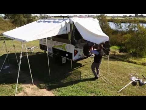 Jayco Camper Trailer & Annexe Setup - Official Video