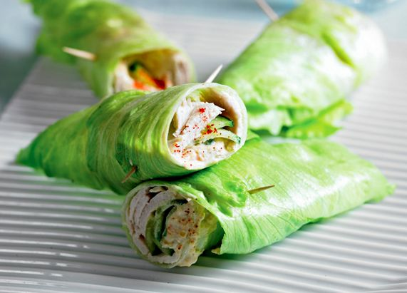 Turkey Lettuce Wraps - Quick and Healthy Lunch Ideas