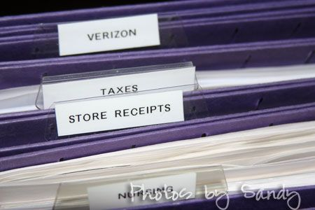 How to Organize Your Files This is perfect because I need to reorganize my filing cabinet!