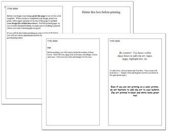 Bulletin Printing Template | Church Bulletins | Free