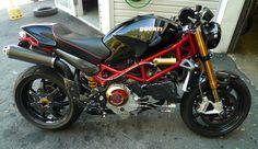 """Black Hole"" Ducati Monster S4R"