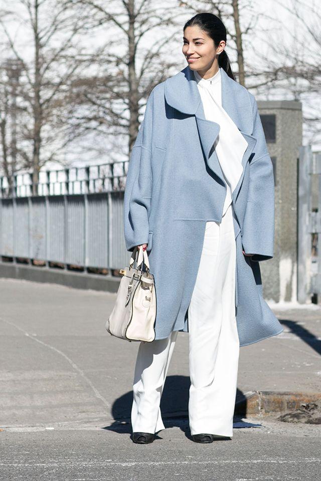 Неделя моды в Нью-Йорке F/W 2015: street style. Часть 1 (фото 8)