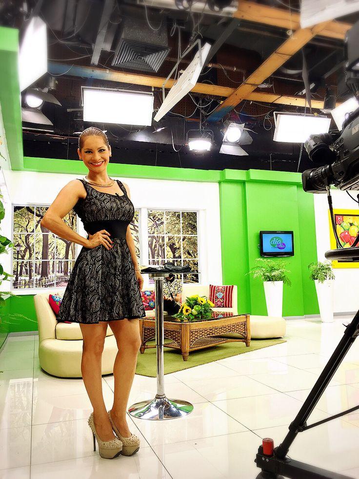 Feliz trabajando en día a día en panamericana tv. #ilovemyjob