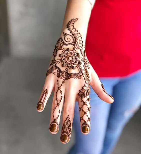 Beautiful Eid Mehndi Designs 2018