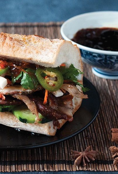 Porchetta banh mi with fish sauce caramel receta comida for Fish sauce caramel