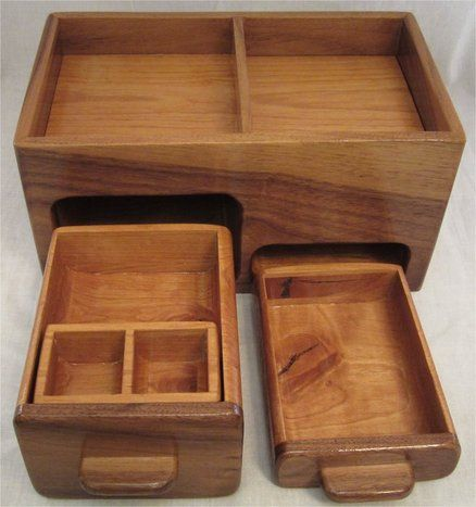 Jewelry boxes and specialty boxes with hidden