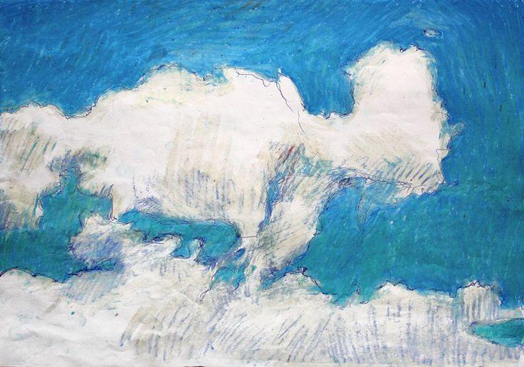 oil pastel draw