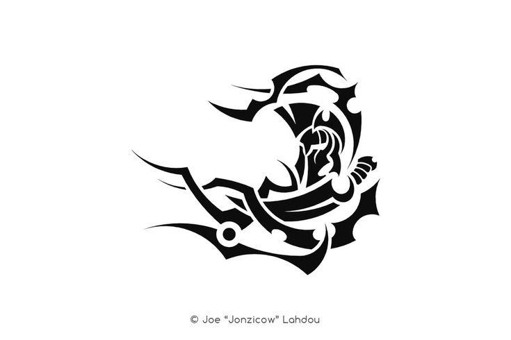 Tribal Ghost Symbols Symbols Free Download