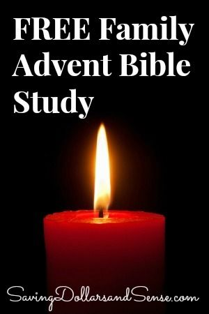 FREE Family Advent Bible Study