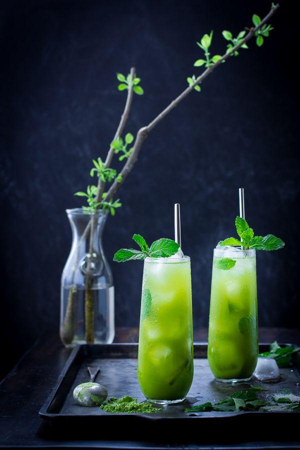 Matcha Mint Juleps http://teapavse.com/different-types-of-tea/