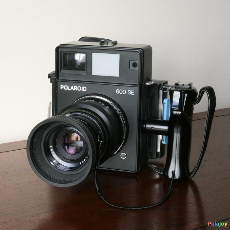 Polaroid 600 SE #vintage #camera