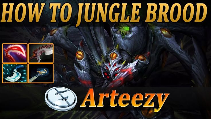 How to Jungle Broodmother by Arteezy | Broodmother Fullgame