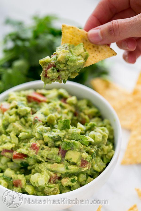 This spicy guacamole recipe is healthy and delish!